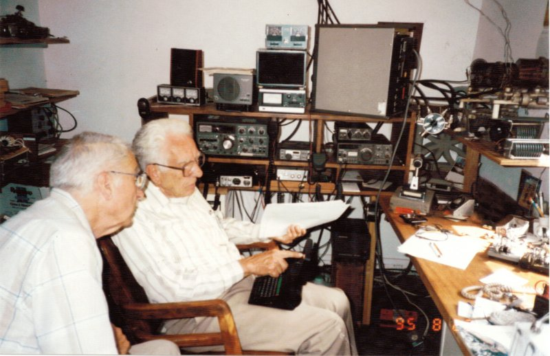 Mac and Morel in 1995